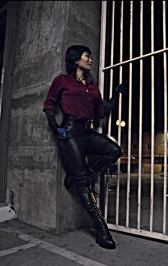 Cosplay Ada Wong From Resident Evil 6 Leen Isabel