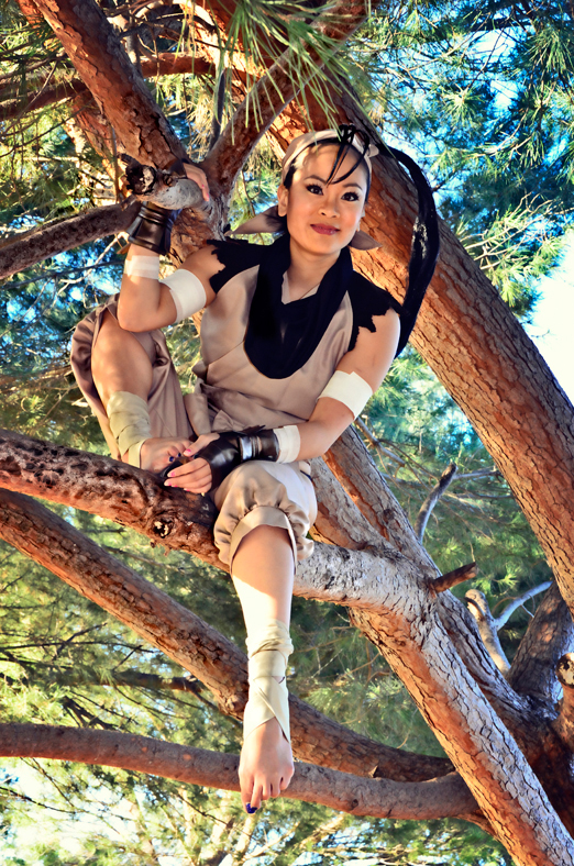 cosplay ibuki from street fighter leen isabel