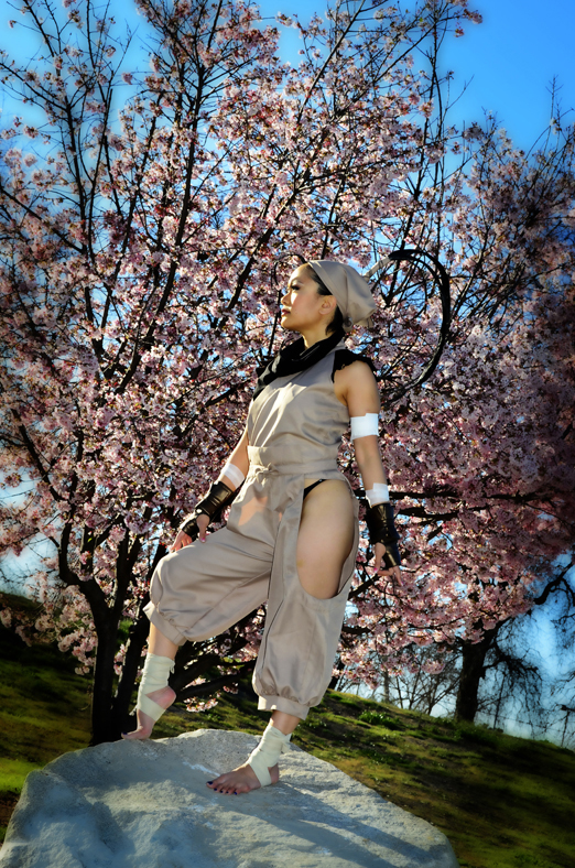Cosplay: Ibuki from Street Fighter - Leen Isabel
