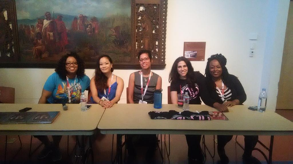 Women in Comics NYC Collective International Panel