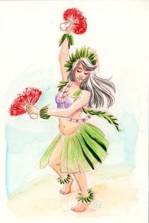 Polynesian Dancer