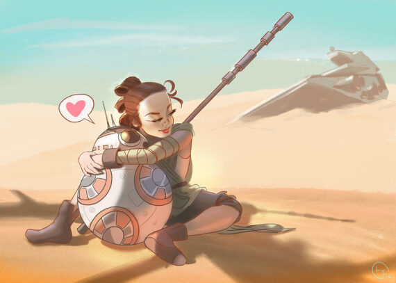 rey-bb8-star-wars-force-awakens-fanart-leen-isabel-web